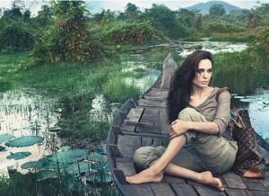 Angelina Jolie se estrena como cara publicitaria de Louis Vuitton