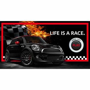 Los coches Mini protagonizan carreras en 3D en Facebook