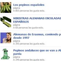 Los pepinos españoles abundan en la huerta de las redes sociales