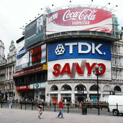 Hyundai verá su nombre en las luces de Piccadilly Circus