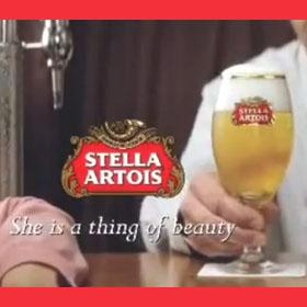 La cervecera Stella Artois revive una