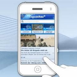Una app móvil para ver el telediario desata la guerra entre prensa privada y televisión pública en Alemania