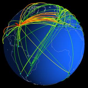 El tráfico global en internet podría llegar a cuadruplicarse en el 2015