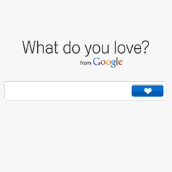 Google lanza su última creación: What Do You Love?