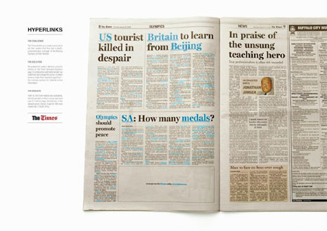 30 ejemplos de publicidad inteligente en diarios