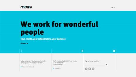 20 ejemplos de uso inteligente del color en el diseño web