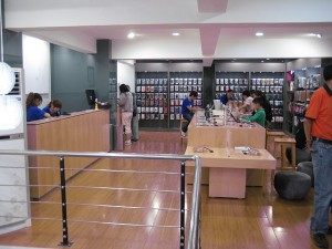 Adiós a las tiendas falsas de Apple en China