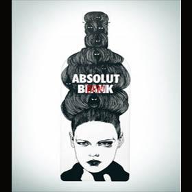 Vodka Absolut se convierte en un lienzo en blanco para artistas