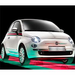 Fiat se viste de Gucci para celebrar su 90º cumpleaños