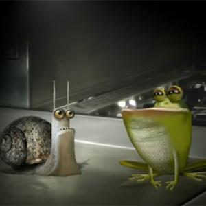 Un caracol y una rana, protagonistas del nuevo anuncio de Unilever