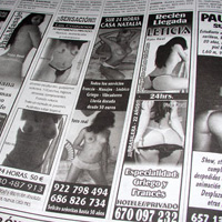 El Gobierno mantiene la idea de prohibir los anuncios de prostitución en prensa