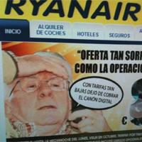 Ryanair se mofa de Teddy Bautista en su nueva campaña