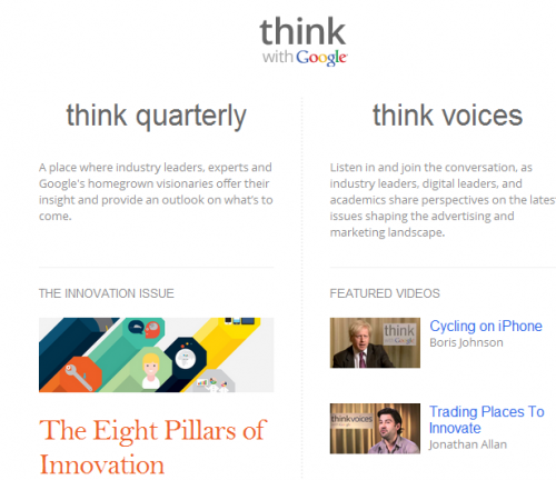 Google UK presenta Think with Google