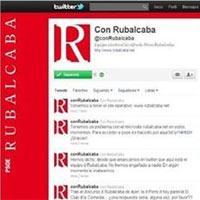 El perfil de apoyo a Rubalcaba en Twitter obtiene más de 11.000 seguidores en su primer fin de semana