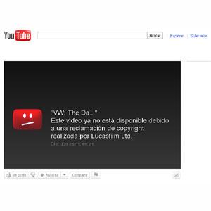 Lucasfilm bloquea el canal de Greenpeace en YouTube tras la parodia del spot