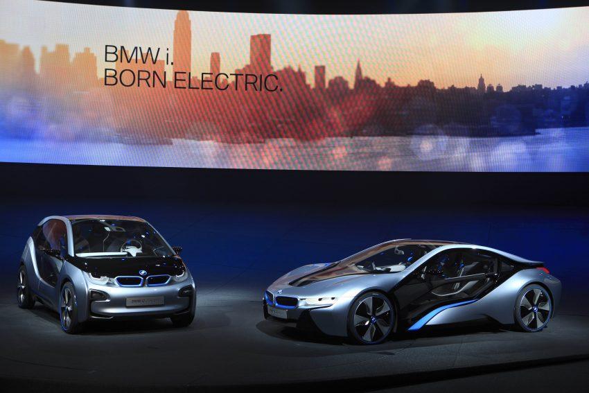 Frankfurt presenta los nuevos modelos futuristas de BMW