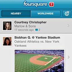 Foursquare ya permite hacer check-in en eventos