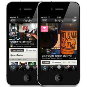 Una aplicación relaciona tus gustos con los bares y restaurantes cercanos