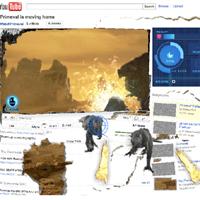 Una campaña interactiva en YouTube llena nuestra pantalla de dinosaurios