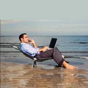No desconectar del trabajo en vacaciones afecta gravemente a la salud