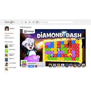 Google+ se sube al tren de los juegos sociales