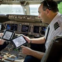 El iPad vuela alto gracias a United y Continental Airlines