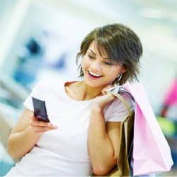 Las mujeres se rinden a los encantos del m-commerce