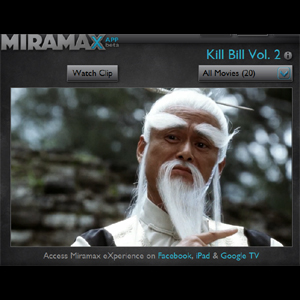 Miramax lanza un servicio de alquiler de películas en Facebook