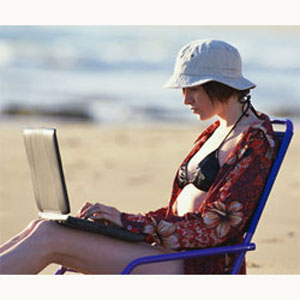 El ordenador gana a la tableta en vacaciones