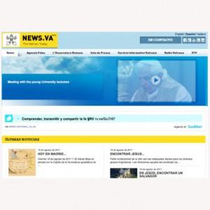 El Papa trae a Madrid la versión española del portal de noticias del Vaticano News.va