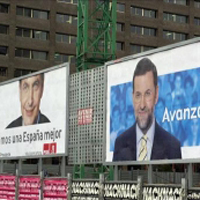 PSOE y PP no harán publicidad exterior hasta que comience la campaña del 20-N