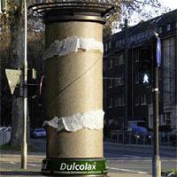 20 ejemplos ingeniosos de publicidad en columnas