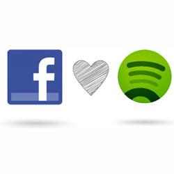 El servicio de música de Facebook se basará en colaboraciones con otros servidores como Spotify