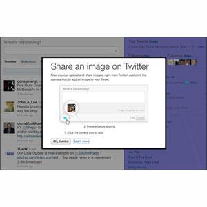 Twitter da luz verde a su nuevo servicio para compartir imágenes