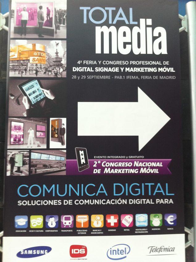 TOTALMedia 2011 en vídeos e imágenes