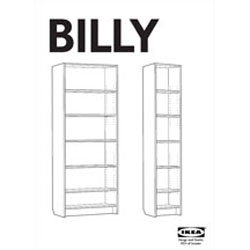 Ikea cambia el dise o de sus estanter as ante la - Ante billy ikea ...
