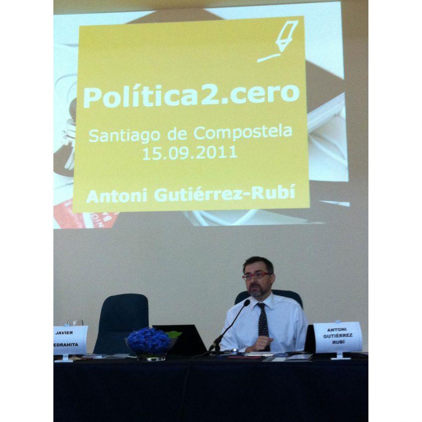 Política2.cero: Antoni G. Rubí,