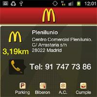 McDonald's lanza en exclusiva su nueva aplicación Android en Samsung APPS