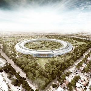 Apple se instalará en un edificio futurista diseñado por Norman Foster