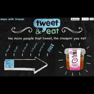 Innocent rebaja sus precios en función del número de tweets que reciba su marca