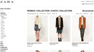 497d1c3707 Los consumidores pueden hacer sus compras de ropa y complementos desde  catálogo online de Zara.