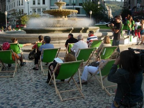 Iberdrola apuesta por el street marketing en la inauguración de su nueva sede
