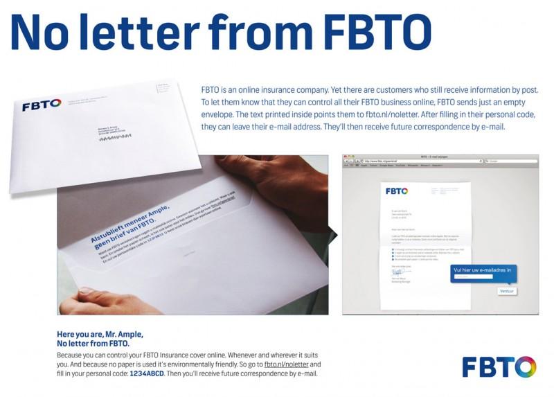 ¿Enviar una carta para avisar de que ya no recibiremos más cartas?