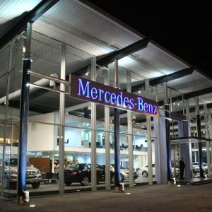 Un día en Mercedes-Benz: del concesionario al restaurante