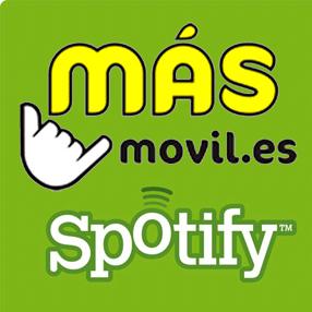 MÁSMÓVIL celebra el día del Pilar regalando cuentas de Spotify