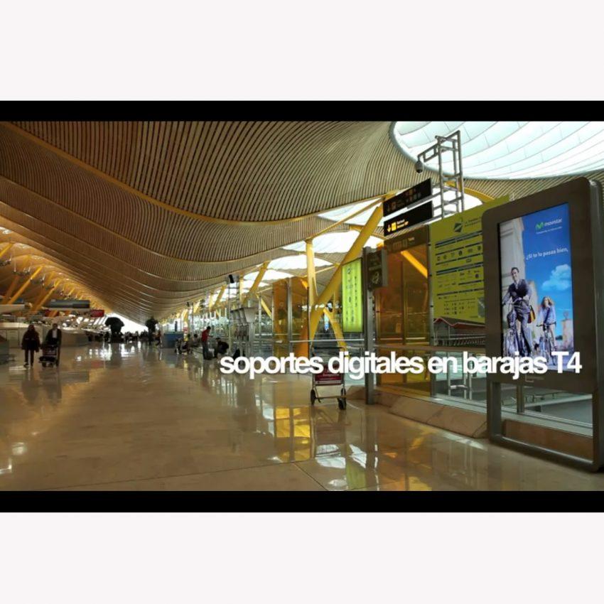 Publimedia lleva la publicidad digital a los aeropuertos de Madrid y Asturias