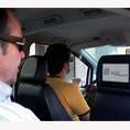 Los taxis madrileños podrían llevar publicidad comercial en su interior