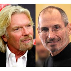 """""""Steve Jobs era el emprendedor al que más admiraba"""", Richard Branson (Virgin)"""