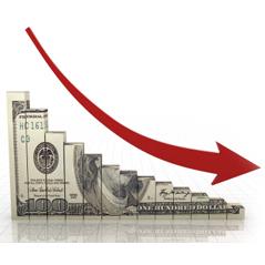 caida inversión