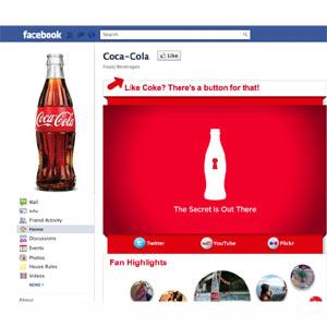Coca-Cola se sube a lo más alto del podio de las marcas en Facebook